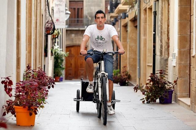 RODANDO, mensajería ecológica en bicicleta