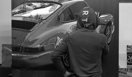El asombroso arte que usa los coches como inspiración u objeto artístico