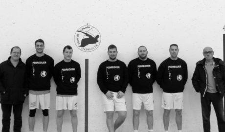 Seis clubes de pilota de la Marina Alta lucharán por la II Liga Comarcal de Raspall