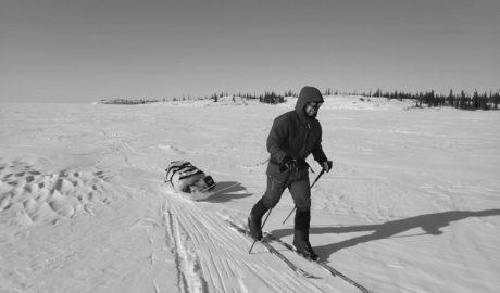 Canadá, un lago congelado y el problema del cambio climático: misión cumplida para el dianense Pepe Ivars