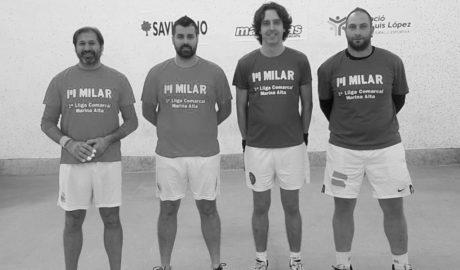 Los equipos de Ondara, El Verger y los dos de Xàbia, en las semifinales de la Liga Comarcal de Raspall