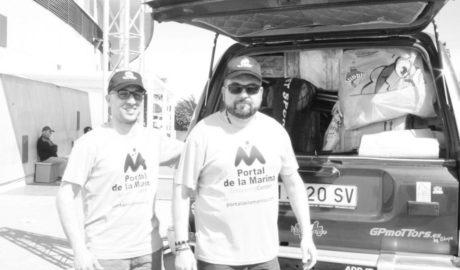 Gaspar Ruiz y Vicente Ros parten hacia el Maroc Challenge cargados de ilusión y mucho material para repartir