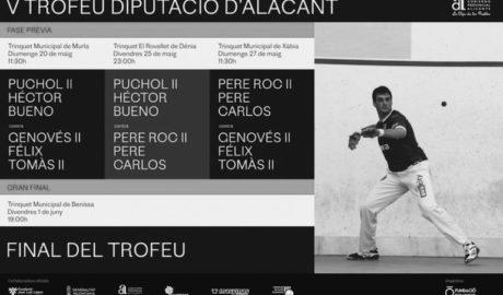 El V Trofeo Diputación reúne en la comarca a los mejores jugadores de escala i corda