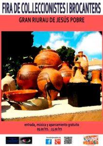 Feria de antigüedades, coleccionismo y brocaters -Jesús Pobre- @ Riurau de Jesús Pobre