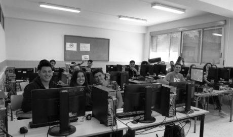 El alumnado del IES Antoni LLidó de Xàbia, periodistas por un día