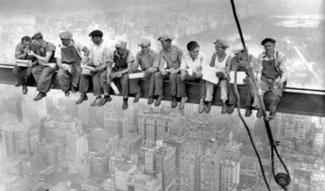 Rascacielos en New York, 1930