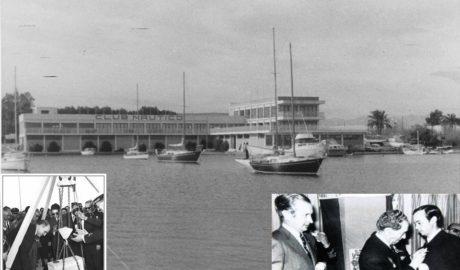 Cincuenta años del día en que Samaranch inauguró el Náutico de Dénia