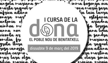 Benitatxell correrá por la igualdad en su primera Cursa de la Dona, que se hará a beneficio de Aprosdeco