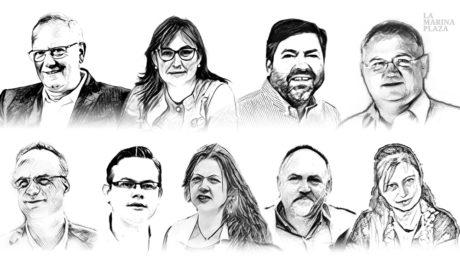 Elecciones Dénia-La Marina Plaza Candidatos partidos