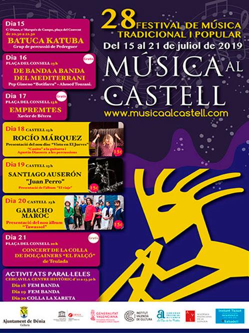 Música al Castell 2019. Dénia