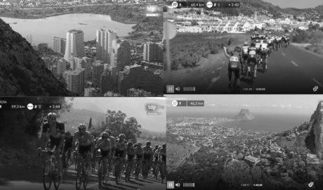 Lo que el helicóptero de la Vuelta 2019 enseñó de la historia de la Marina Alta a millones de espectadores