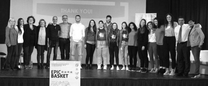 Pedreguer finaliza en Italia su periplo europeo sobre baloncesto e igualdad