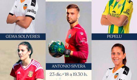 Portal de la Marina organiza una firma de autógrafos con cinco futbolistas profesionales de la Marina Alta