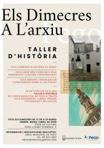 Taller d'Història local de Pego @ Casa de Cultura de Pego