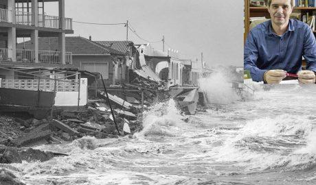 Jorge Olcina: «Hay que empezar a desocupar la costa de viviendas en peligro porque vendrán más temporales como Gloria»