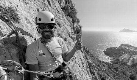 Serpa Climbing, la primera empresa de la comarca dedicada exclusivamente al deporte y turismo de escalada