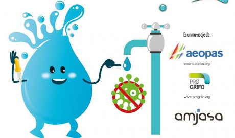 El agua del grifo es segura, sana y se encuentra libre de virus