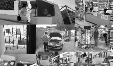 Diez profesiones que también luchan bajo la lluvia de las calles de Dénia y merecen otro aplauso