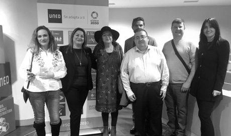 La UNED de Dénia recoge en Madrid el premio de igualdad de género