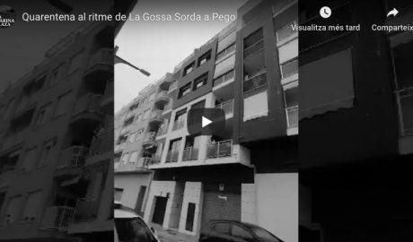 [VÍDEO] Fiesta en los balcones al ritmo de «Si sobrevius passa't per Pego»