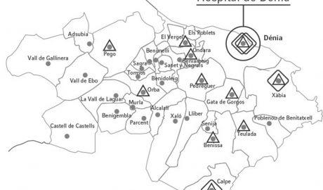 Marina Salud cierra casi todos los consultorios de la Marina Alta para centrarse en el coronavirus