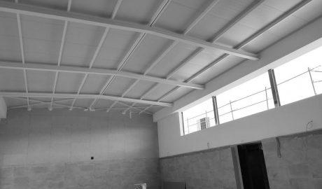 Así van quedando las nuevas dotaciones deportivas del colegio L'Alfàs de Pedreguer