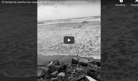 [VÍDEO] La castigada costa de Dénia que todo el mundo ha tenido que olvidar