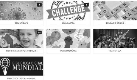 Educación, talleres de memoria o 'challenges' virtuales como arma para el confinamiento en Xaló