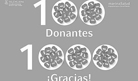 Una solidaridad histórica: Más de cien colectivos, empresas y particulares han hecho donaciones al Hospital de Dénia