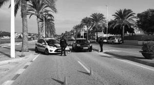 Los primeros 20 días del Estado de Alarma acaban con 53 denuncias en Teulada