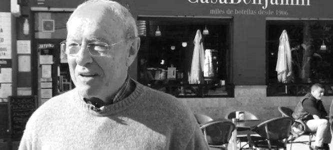 [VÍDEO] La última enseñanza de Benjamín Pastor sobre los secretos de los bares de Dénia