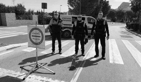 Calp se blinda de la llegada de turistas cerrando otros dos accesos al municipio