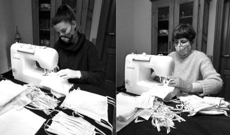 Más de 300 voluntarios de toda la Marina Alta ayudan a Rolser a fabricar 25.000 mascarillas y 400 pantallas faciales